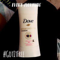 Dove® Advanced Care Invisible Clear Finish Antiperspirant Deodorant uploaded by amy s.