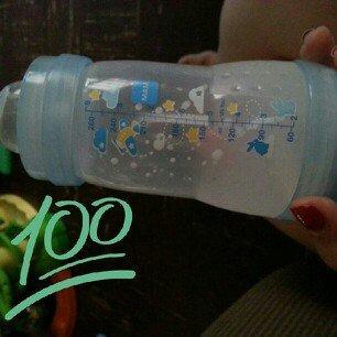 Photo of MAM 9 oz. Anti-Colic Bottle in Blue uploaded by Debbie S.