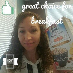 Quaker® Select Starts Super Grains Honey Almond Instant Hot Cereal 6-1.97 oz. Pouches uploaded by Bridgot P.