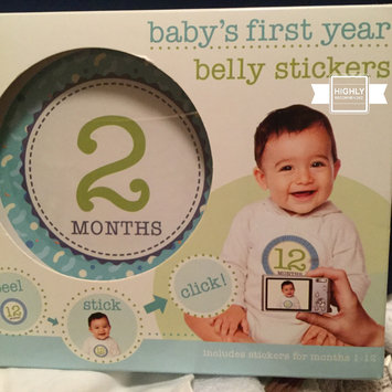 Photo of Stepping Stones Baby's First Year Belly Stickers (Boy) uploaded by Marilene V.