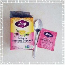 Yogi Tea's Yogi Echinacea Immune Support Herbal Tea Bags, 16 count, .85 oz, (Pack of 6) uploaded by Stephanie H.