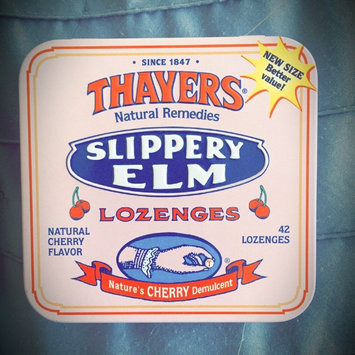 Photo of Thayers Slippery Elm Lozenges, Cherry, 42 Count uploaded by Lorelei P.