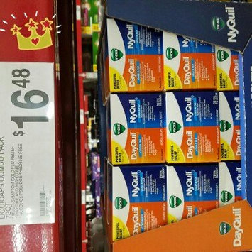 Photo of NyQuil™ Cold & Flu Nighttime Relief Liquid uploaded by Lia A.