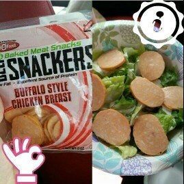 Photo of Land O'Frost® Deli Snackers™ Buffalo Style Chicken Breast Baked Meat Snacks 2 oz. Bag uploaded by Elaine R.