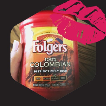Photo of Folgers 100% Colombian Med-Dark Roast Ground Coffee uploaded by Gabriella M.
