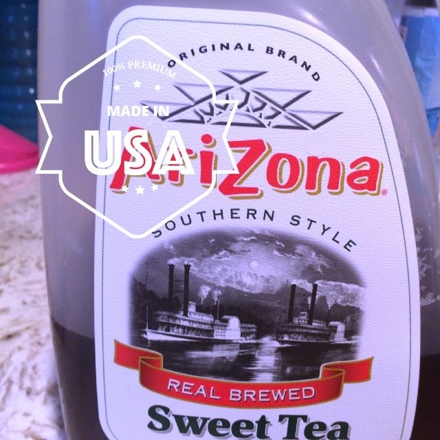 Arizona Southern Style Real Brewed Sweet Tea uploaded by Riley L.