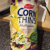 Real Foods Corn Thins Multi-Grain Popped Corn Cakes uploaded by Caroline W.