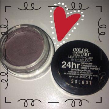 Maybelline Eyestudio® ColorTattoo® Leather 24 Hour Cream Gel Eye Shadow uploaded by Amber M.