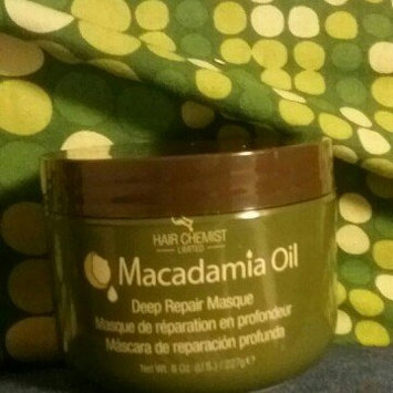 Photo of Hair Chemist Macadamia Oil Deep Repair Masque uploaded by Chocolate M.