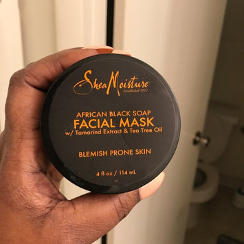SheaMoisture African Black Soap Problem Skin Facial Mask uploaded by Richelle C.