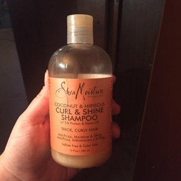SheaMoisture Coconut & Hibiscus Curl & Shine Shampoo uploaded by Samantha L.