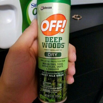 Photo of Deep Woods Off! Deep Woods Dry Aerosol Insect Repellent uploaded by ASHLEY V.