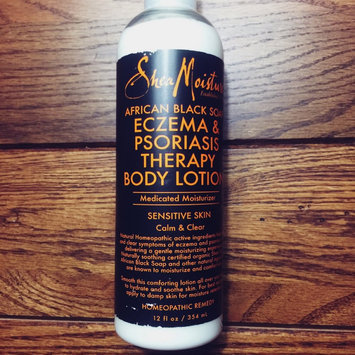 Photo of SheaMoisture African Black Soap Eczema Psoriasis Therapy Body Lotion uploaded by Jill P.