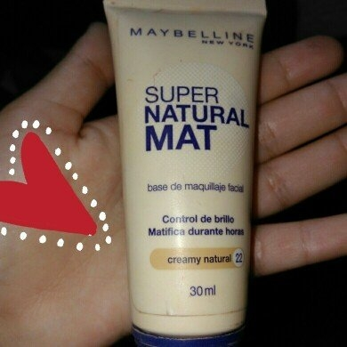 Maybelline Super Natural Mat uploaded by lucia p.