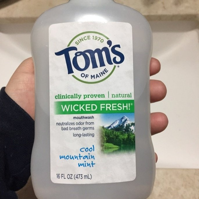 Tom's of Maine Wicked Fresh! Long Lasting Mouthwash uploaded by Karlee F.