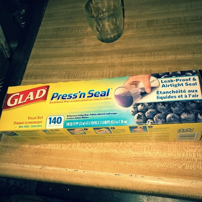 Glad Press'n Seal, 140 SQ. Foot, (Pack of 3) uploaded by Marsha T.