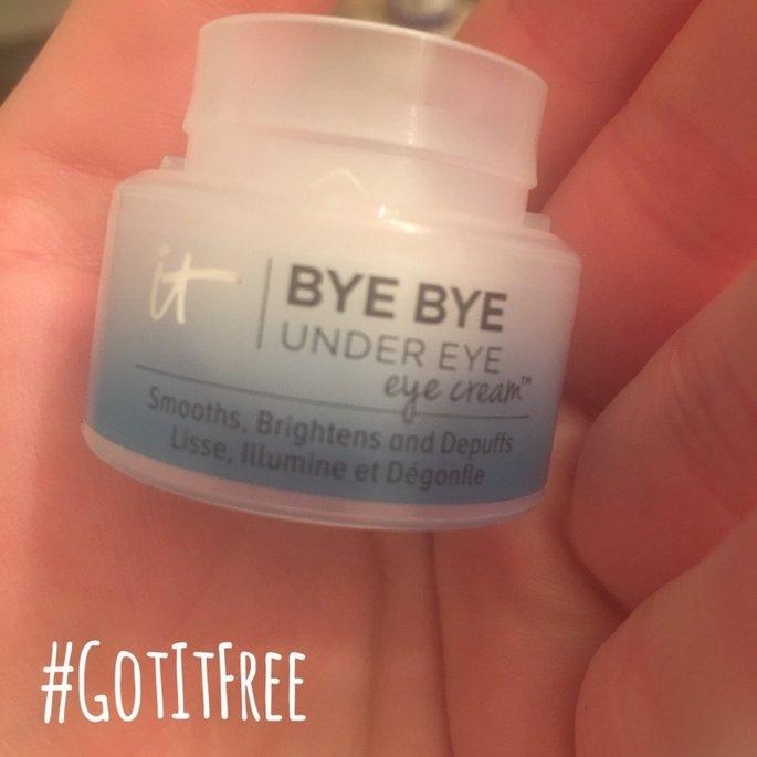 IT Cosmetics Bye Bye Under Eye Eye Cream(TM) Smooths, Brightens, Depuffs 0.5 oz uploaded by Abigail S.