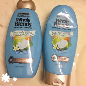 Garnier® Whole Blends™ Coconut Water & Vanilla Milk Extracts Hydrating Shampoo 12.5 fl. oz. Bottle uploaded by Alicia B.