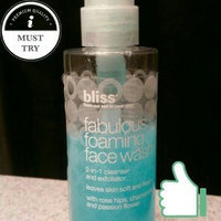 Bliss Fabulous Foaming Face Wash  uploaded by Erin S.