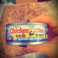 Chicken of the Sea Solid White Albacore Tuna in Water uploaded by Felecia F.