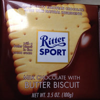 Ritter Sport Milk Chocolate With Butter Biscuit uploaded by Milena M.