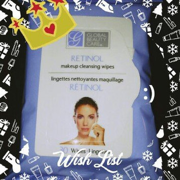 Photo of Global Beauty Care Retinol Makeup Cleaning Wipes uploaded by Paula C.