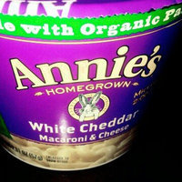 Annie's Homegrown White Cheddar Microwavable Mac & Cheese uploaded by Melissa G.
