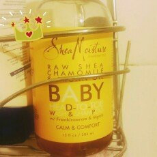 Photo of SheaMoisture Raw Shea Chamomile & Argan Oil Wash & Shampoo uploaded by maribel l.