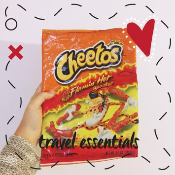 Cheetos Flamin' Hot Crunchy Cheese Flavored Snacks uploaded by Alicia M.