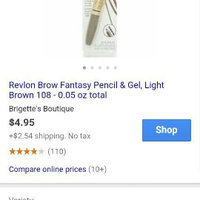 Revlon .05oz ColorStay Brow Fantasy 108 Light Brown uploaded by Shania M.