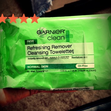 Photo of Garnier SkinActive Clean+ Refreshing Remover Cleansing Towelettes uploaded by Rosa Y.