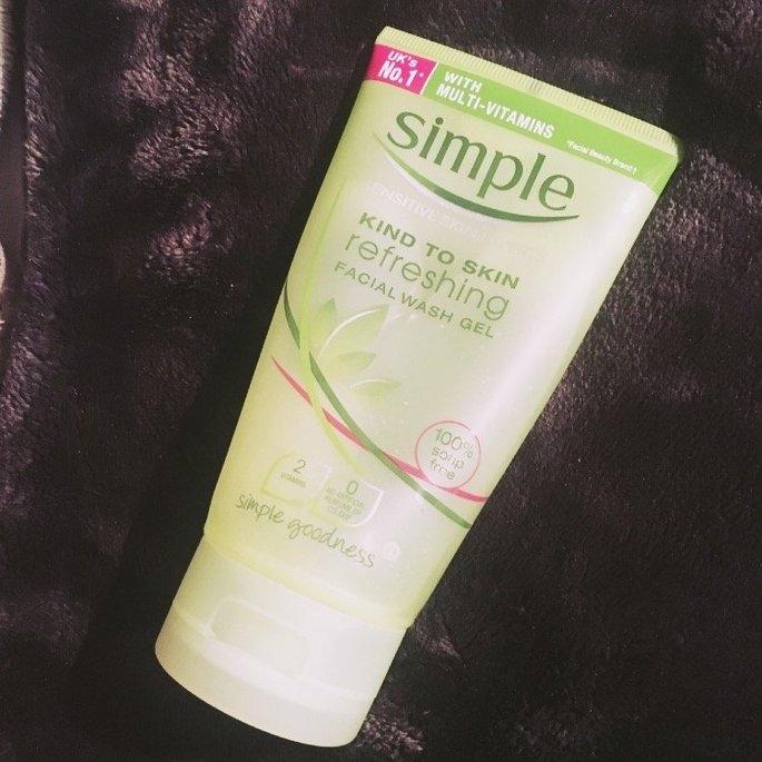 Simple Refreshing Facial Wash Gel  uploaded by Jodie O.