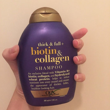 Photo of OGX® Biotin & Collagen Shampoo uploaded by Alli M.