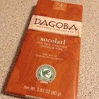 Dagoba Xocolatl Organic Rich Dark Chocolate, Chilies & Nibs uploaded by Jessica C.