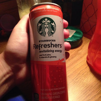 Photo of STARBUCKS® Refreshers® Strawberry Acai Lemonade VIA® Ready Brew uploaded by Sara S.