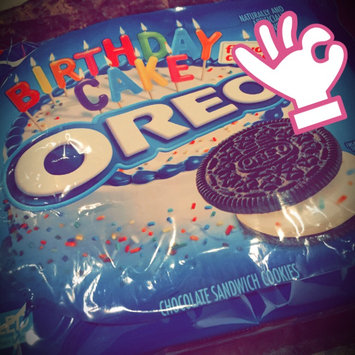 Oreo Birthday Cake Chocolate Sandwich Cookies uploaded by Amina R.