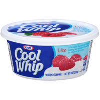 Kraft Cool Whip Lite Whipped Topping 16 Oz Plastic Tub uploaded by Brittney E.