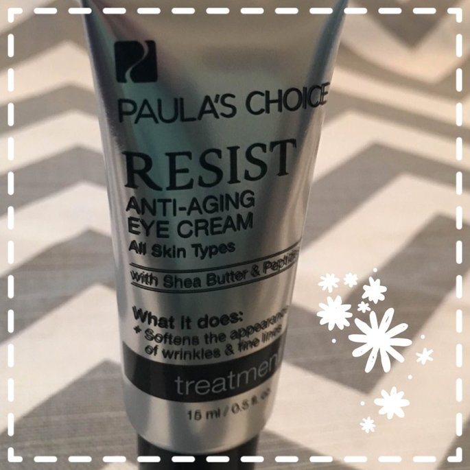 Paula's Choice 'Resist' Anti-Aging Eye Cream uploaded by Bethany B.