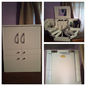 Tabletop Spinning Cosmetic Organizer by Lori Greiner uploaded by Danielle S.