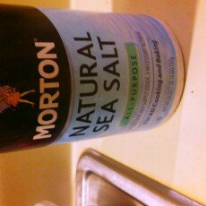 Morton Natural Sea Salt uploaded by Cynthia S.