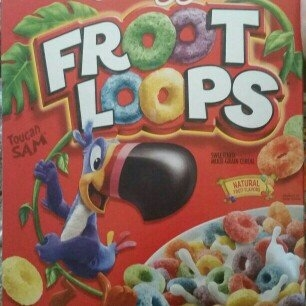 Kellogg's Froot Loops Cereal uploaded by Melony L.