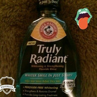 Arm & Hammer Truly Radiant Fluoride Rinse Sparkling Mint uploaded by Alyssa A.