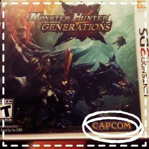 U & I Entertainment Monster Hunter Generations - Nintendo 3ds uploaded by Alexandra Y.
