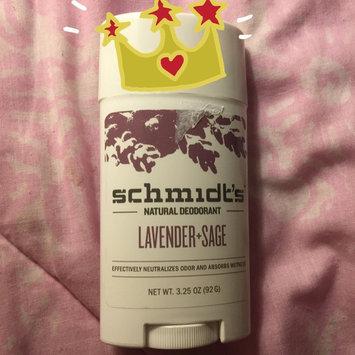 Schmidt's Deodorant Lavender + Sage Deodorant uploaded by Melanie M.
