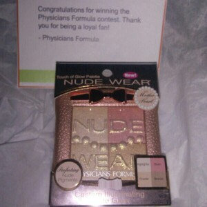 Photo of Physicians Formula Nude Wear™ Touch Of Glow Palette uploaded by Cynthia H.