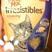 Meow Mix Irresistibles Crunchy White Meat Chicken & Turkey Cat Treats, 2.5-Ounce uploaded by Holly P.