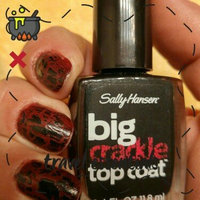 Sally Hansen Big Crackle Top Coat - Black On uploaded by kemberly g.