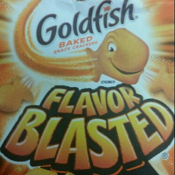 Pepperidge Farm Goldfish: Flavor Blasted Xtra Cheddar Baked Snack Crackers uploaded by Lisa F.