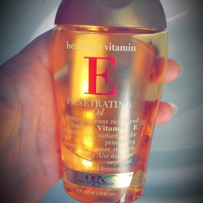 Ogx OGX Penetrating Oil, Healing + Vitamin E, 3.3 oz uploaded by Carol T.