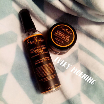SheaMoisture African Black Soap Problem Skin Moisturizer uploaded by Raven M.